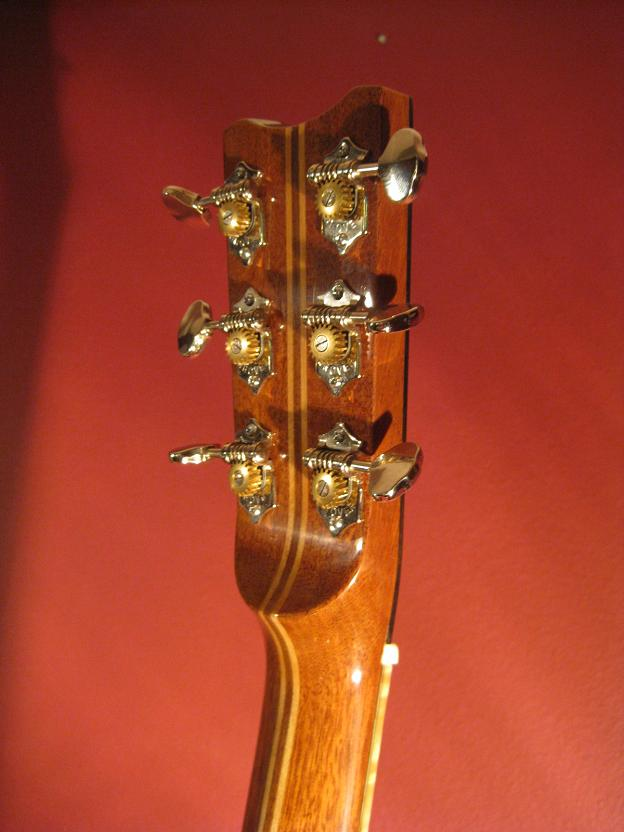 Xguitar headstock back